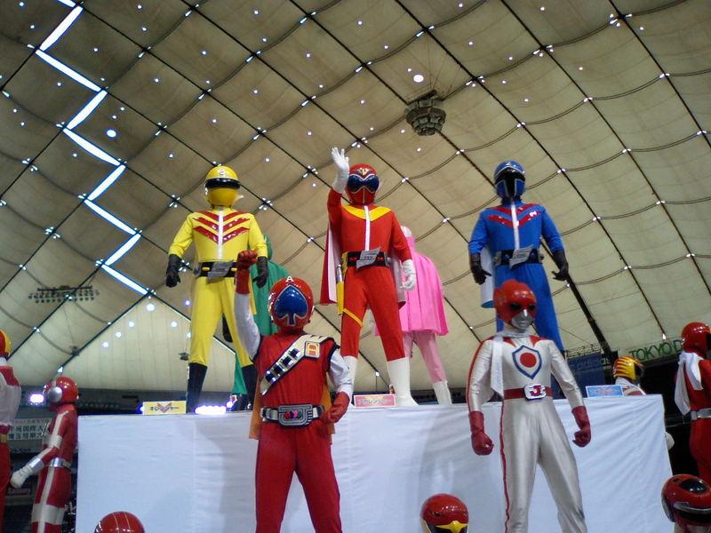 Wヒーローショー in 東京ドーム